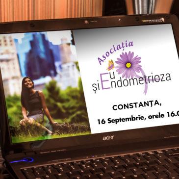 Eu și Endo 16.09 Constanța – Două Întâlniri Eveniment