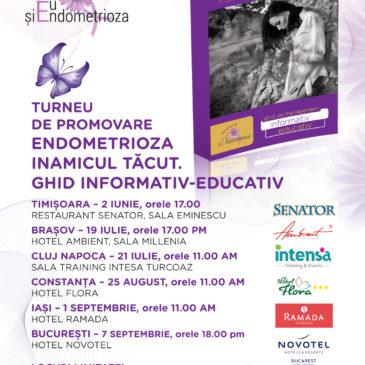 Ghidul Endometrioza – Inamicul Tăcut – lansare în cadrul FemHelp Timișoara
