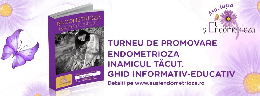 Ghidul Endometrioza Inamicul Tăcut – Lansare în cadrul primului Congres de Endometrioză de la Sinaia!