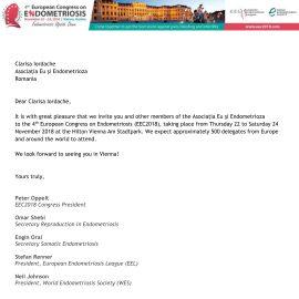 Asociația Eu și Endometrioza este membru al World Endometriosis Organization!