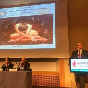 Endometrioza asimptomatică – cu Prof. Dr. Moamar Al-Jefout la Congresul European de Endometrioză de la Viena