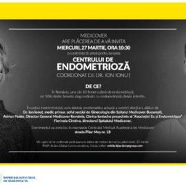 Eu și Endometrioza – speaker la deschiderea celui mai nou centru de endometrioză din România