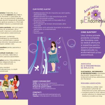 Pliant informativ Asociația Eu și Endometrioza
