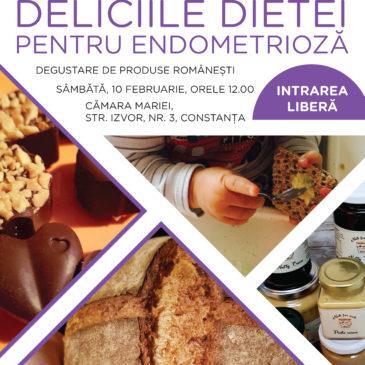 Deliciile dietei pentru Endometrioză: Degustare de produse românești!