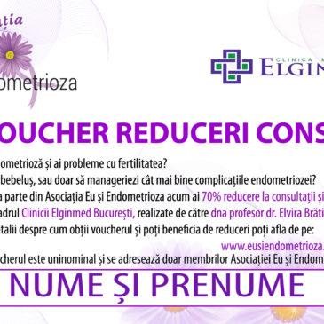 Reduceri la consultații dr. Elvira Brătilă, București, pentru membrii Asociației