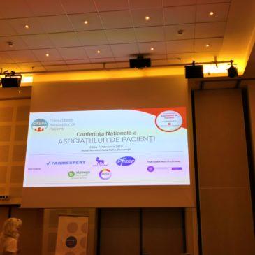 Conferința Națională a Comunității Asociațiilor de Pacienți