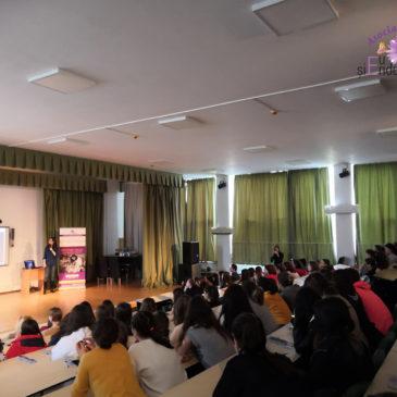 Campania de conștientizare în rândul adolescenților debutează la Liceul Jean Monnet, București!