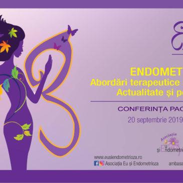 """Programul Conferinței """"Endometrioza – Abordări terapeutice și de diagnostic. Actualitate și Perspective"""", Timișoara, 20 Septembrie"""