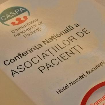 Eu și Endometrioza participă la ce-a de-a 8-a ediție a Conferinței Asociațiilor de Pacienți